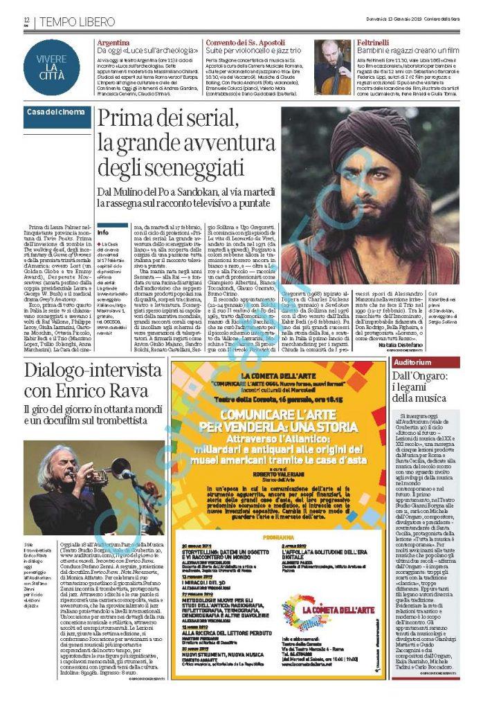 Corriere della Sera - 13012019